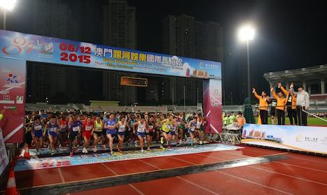 マカオ国際マラソン、内外から8000人が参加=ウクライナ勢がアベック優勝