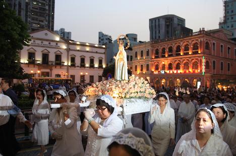 ファティマ聖母の行列(写真:MGTO)
