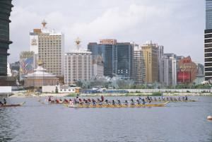 マカオインターナショナルドラゴンボートレース(写真:MGTO)
