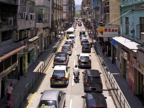 マカオ政府、新車登録税増税案を立法会へ提出=17日に採決