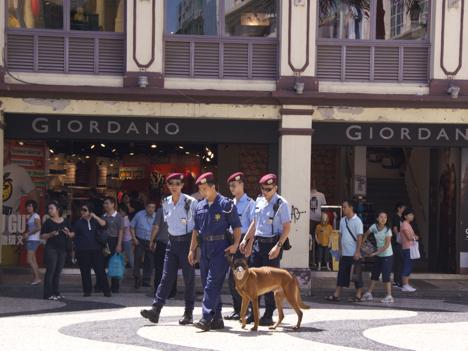 マカオ「観光警察隊」創設へ=世界遺産及び名所周辺に配置、語学力で選抜