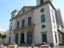 マカオ旧市街中心部にある世界遺産・カテドラル(資料)—本紙撮影