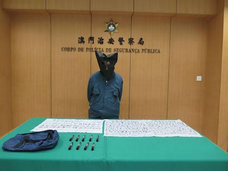 マカオ居留権獲得できず不満…文化財に落書きした82歳の香港人逮捕