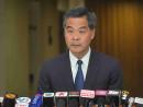 現職香港特別行政区行政長官の梁振英氏(資料)=2015年8月(写真:news.gov.hk)