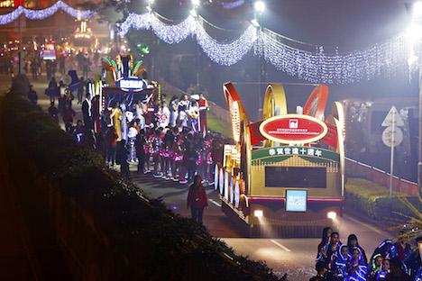 マカオの春節パレードに山形・尾花沢花笠踊りが参加へ=2月10日