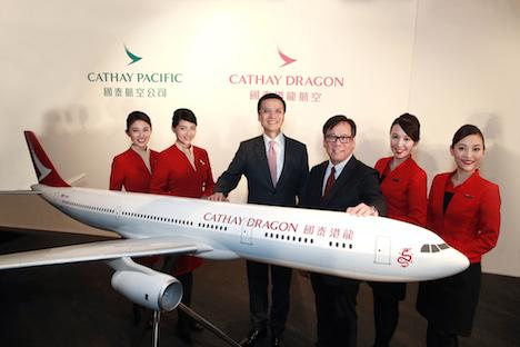 香港ドラゴン航空がキャセイドラゴン航空へブランド変更