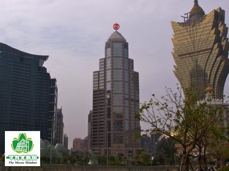 中国銀行マカオ支店(資料)—本紙撮影