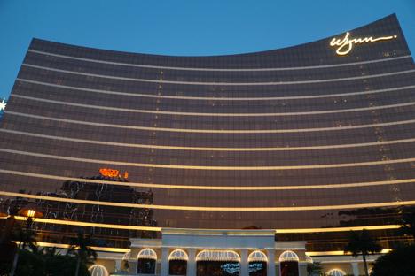 米カジノ大手ウィンリゾーツのマカオ部門が減収減益…VIPルームの不振響く=16年第1四半期業績