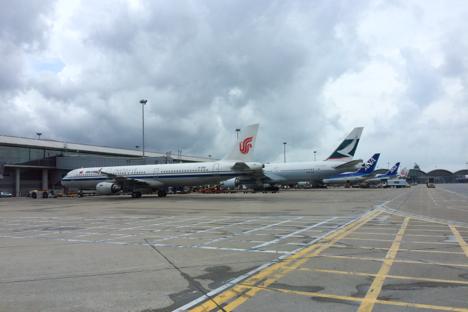 香港発運賃の航空券、燃油サーチャージ「ゼロ」に=2月発券分から