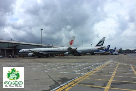 香港国際空港(資料)—本紙撮影