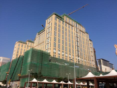 マカオの大型カジノIR「パリジャン」建設現場で不審火=ケガ人なし