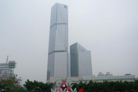 中国・広州で大気汚染警報、PM2.5など原因=マカオにも影響