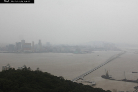 マカオで2.3℃…1949年以来の歴史的低温記録=香港では氷点下も