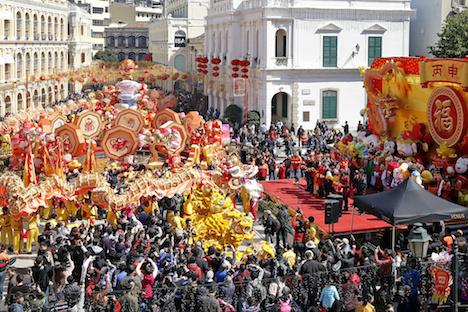 2月訪マカオ旅客数1.2%減の264.4万人…中国本土旅客の落ち込み響く=宿泊伴う旅客は7.9%増