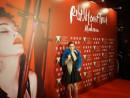 マドンナさんのワールドツアー「レベル・ハート・ツアー」マカオ公演の会場を訪れた浜崎あゆみさん=2月21日、スタジオシティ—本紙撮影