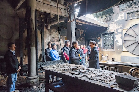 マカオの世界遺産・媽閣廟で火災=激しく損傷、修復までに約1年かかる見通し
