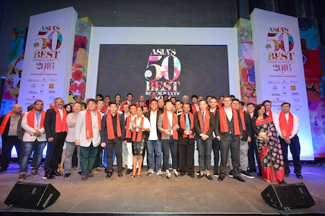 2016年版「アジアのベストレストラン50」発表=マカオから1軒ランクイン