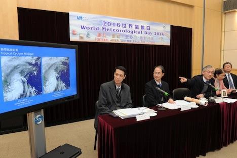 香港天文台、今年の台風襲来数を4〜7個と予測