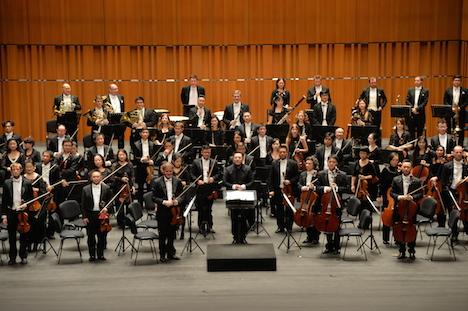 マカオ管弦楽団が東京到着=「情熱の日」音楽祭に出演、立教大との交流も