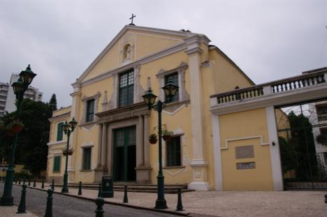 マカオの世界遺産、聖オーガスチン教会で天井崩落事故=負傷者なし