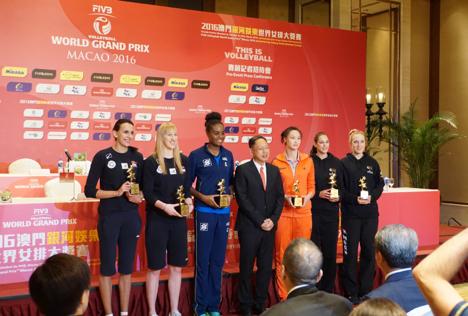 女子バレーボールFIVBワールドグランプリ2016(プールD1)