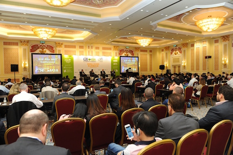 「G2Eアジア」カンファレンス会場のイメージ(資料)=マカオ(写真:Reed Exhibitions)
