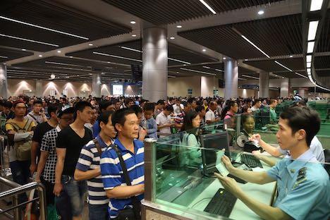労働節三連休中の訪マカオ旅客数1.2%減の52.9万人