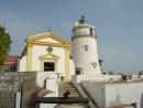 マカオの世界遺産「ギア灯台」-本紙撮影