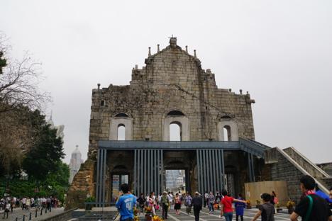 マカオの世界遺産・聖ポール天主堂跡が5日間クローズ=6月26日〜30日、除草作業準備で