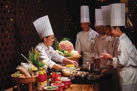 バンヤンツリーマカオでタイ料理教室開催=タイ政府認定プレミアム店のサフロン