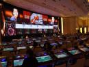 スターワールドホテル3階カジノフロアに新設されたLMGコーナー「點金坊(ゴールデンタッチ)」=8月1日-本紙撮影