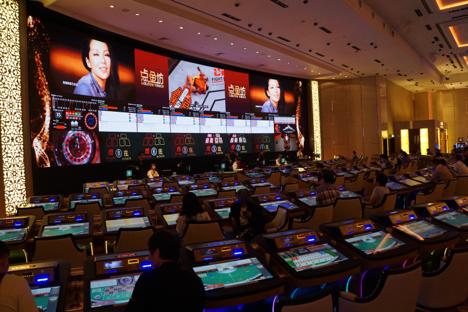 マカオ最大の情報スクリーン擁するLMGコーナー開設…スターワールドカジノ=香港の有名茶餐廳もオープン