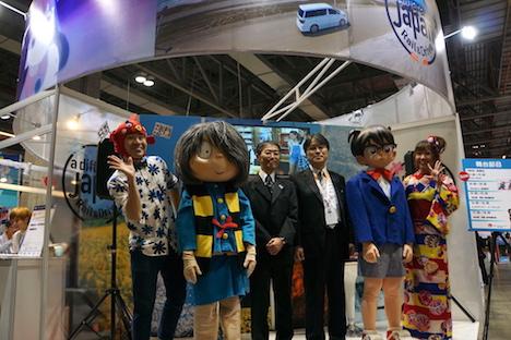 マカオ国際旅行博開幕=日本はレール&ドライブ旅を提案、鬼太郎とコナンも登場
