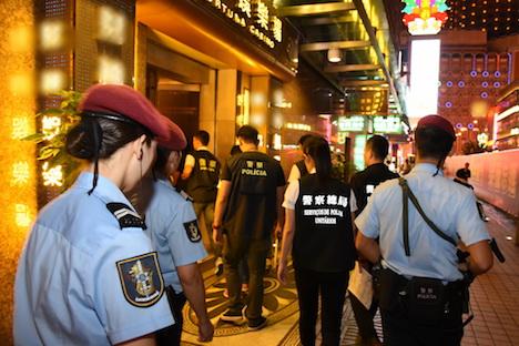 マカオ警察、黒社会による越境犯罪を狙い撃ち=広東省及び香港当局と合同作戦実施