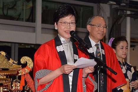 「日本秋祭 in 香港-魅力再発見-」開幕