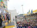 サンシティグループF3マカオグランプリ-FIA F3ワールドカップ表彰式=11月20日、マカオ・ギアサーキット(写真:GCS)