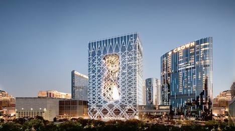マカオの超豪華ホテル「モーフィアス」18年開業へ…設計は故ザハ・ハディド氏=大型IRシティ・オブ・ドリームズに建設中の新棟