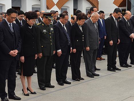 香港政府が「南京事件」追悼式典開催…79周年=マカオはなし