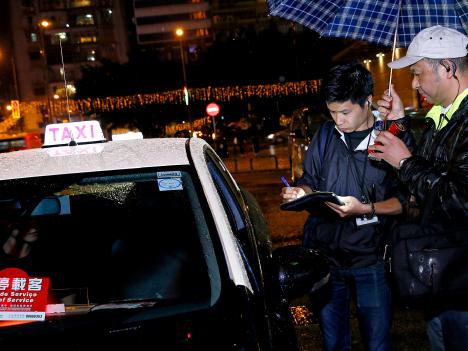 マカオ、11月の悪質タクシー検挙数306件…ぼったくりと乗車拒否が8割=前月から改善も依然暗躍続く