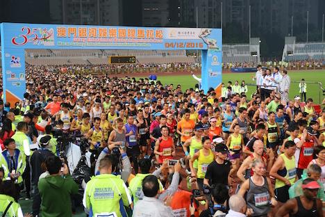 マカオ国際マラソン、内外から1万人が参加=男子はケニア、女子は北朝鮮選手が優勝