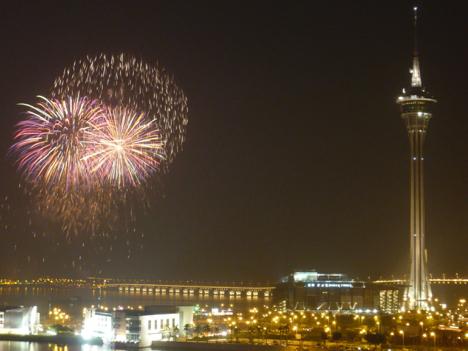 マカオ旅遊局、新年花火イベント中止を発表=材料届かず