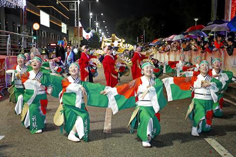 YOSAKOIソーランチーム新琴似天舞龍神がマカオ春節パレードに日本代表で出場
