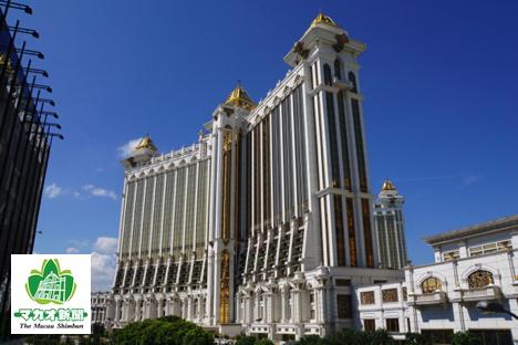 ホテルオークラマカオが入る大型IRギャラクシーマカオ(資料)=マカオ・コタイ地区—本紙撮影