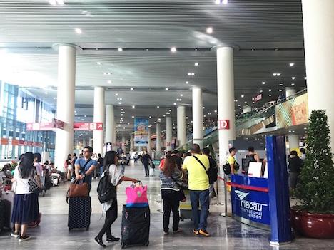 マカオ国際空港の年間旅客数660万人に…2016年=1995年の開港以来最多