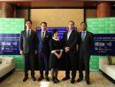 「G2Eアジア2017」開催概要記者会見=2017年1月10日、バンヤンツリーマカオ(写真:G2E Asia)