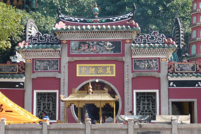 マカオの世界遺産・媽閣廟正殿、一般公開再開時期は17年4月下旬メド=約1年前に火災で損傷