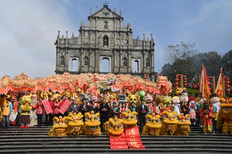 春節6日間の訪マカオ旅客数、事前予想を上回る6.6%増の77万人に=約7割が中国本土から