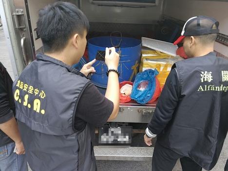 マカオ当局、密輸食材取り締まり実施…224.5キロ分押収