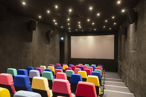 「戀愛・電影館(シネマテーク・パッション)」のシアター(写真:ICM)