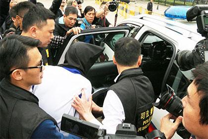 中国公安からマカオ司法警察局に殺人事件容疑者の身柄引き渡し